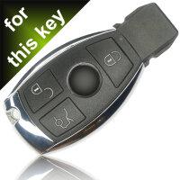 für Mercedes W204 Autoschlüssel