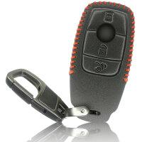 Schlüssel Hülle passend für Mercedes Benz...