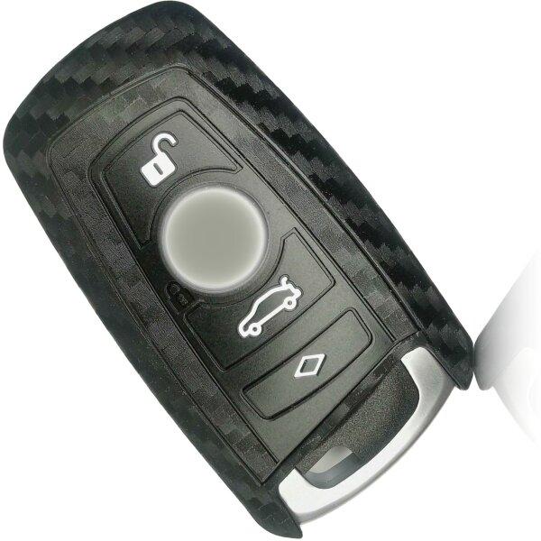 Schlüssel Hülle passend für BMW Schlüssel Cover Typ-B30 Silikon
