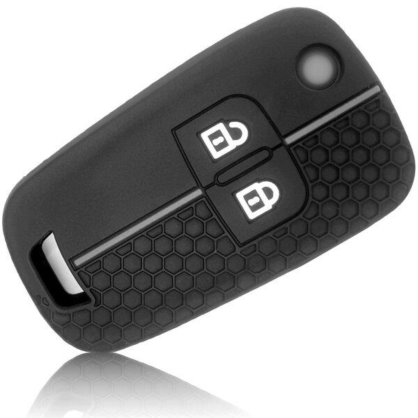 Schlüssel Hülle passend für OPEL Schlüssel Cover Typ-J Silikon