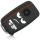 Schlüssel Hülle passend für VW Skoda SEAT Schlüssel Cover Typ-G6 Silikon Seat Mii Dont touch my Key